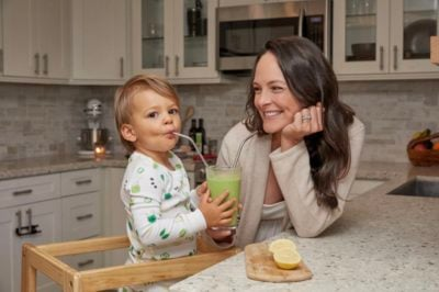 How nutritionist Kelly LeVeque teaches her kids healthy food habits